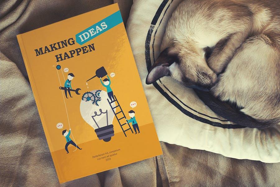 Book Mockup / Hard Cover Edition