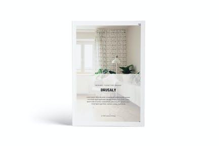 Furniture A4 Brochure Template