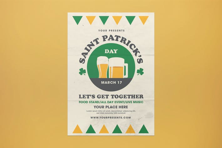 Thumbnail for Saint Patrick's Day Flyer