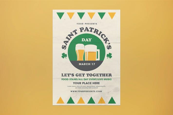 Thumbnail for dépliant de la Saint-Patrick
