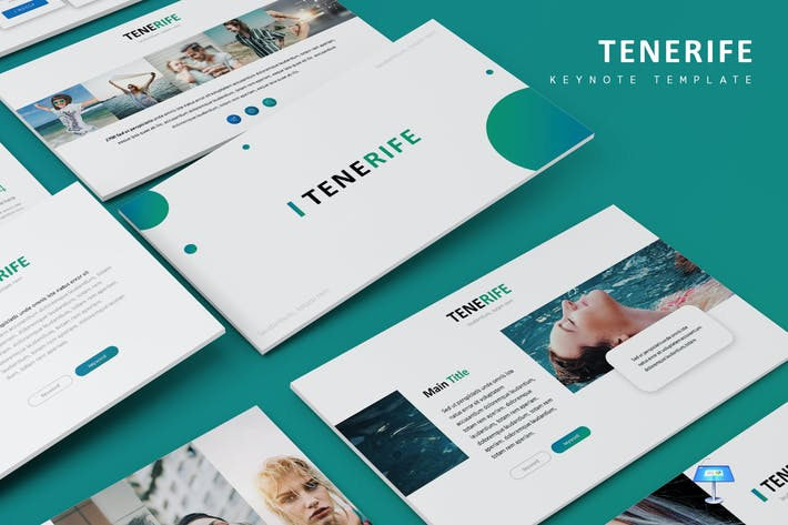 Cover Image For Tenerife - Keynote Template