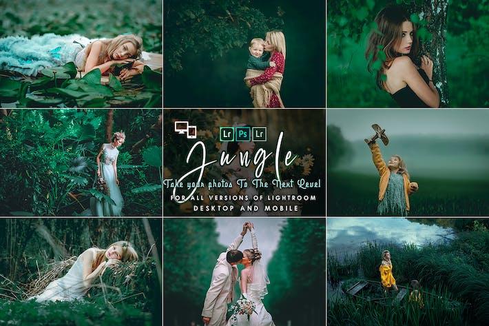Thumbnail for Пресеты для освещения джунглей
