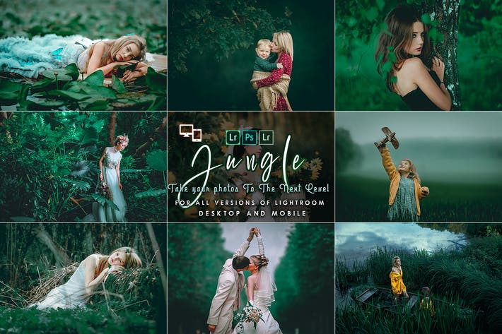 Thumbnail for Jungle Lightroom Presets