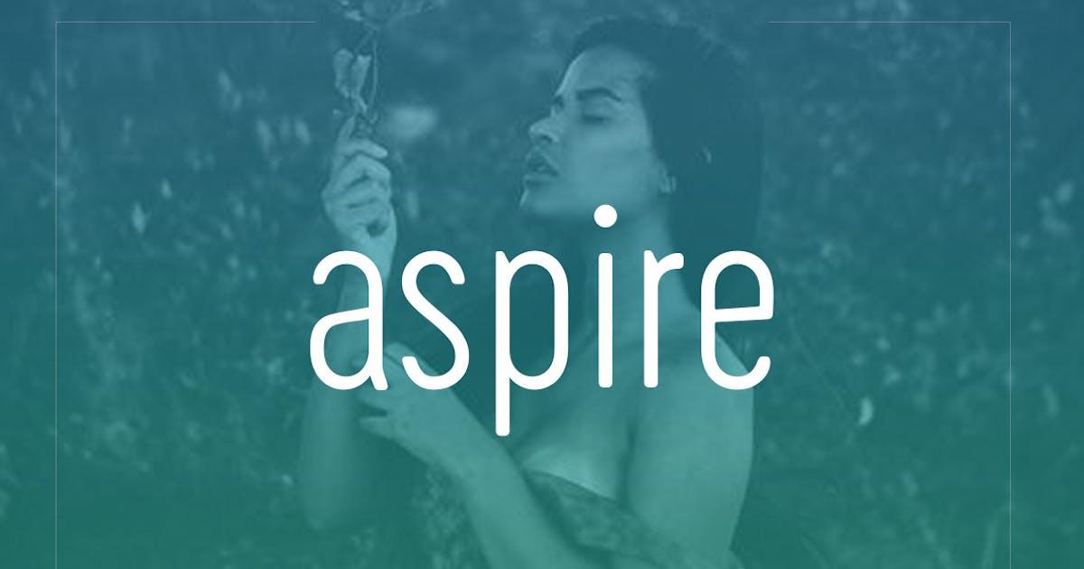 Download Aspire Sans - Modern Typeface + WebFont by webhance