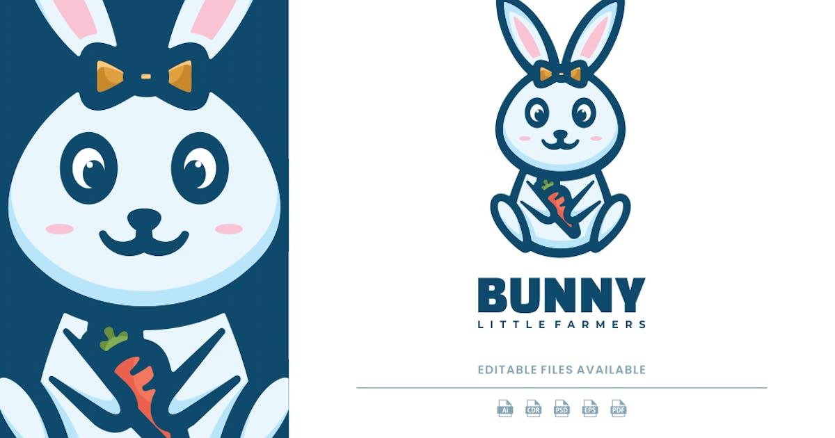 Download Cute Bunny Cartoon Logo by artnivora_std