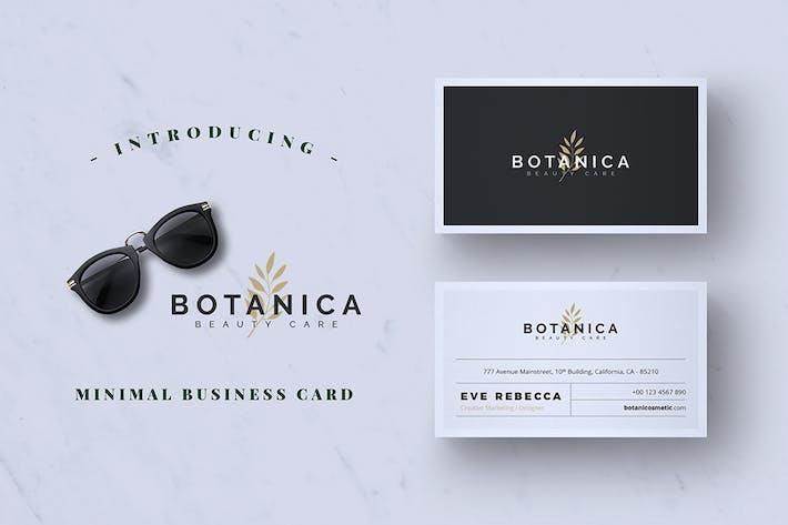 Thumbnail for Modern Minimalist Business Card Vol. 01