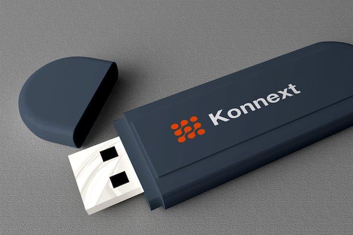 Thumbnail for USB Flashdisk Mockup