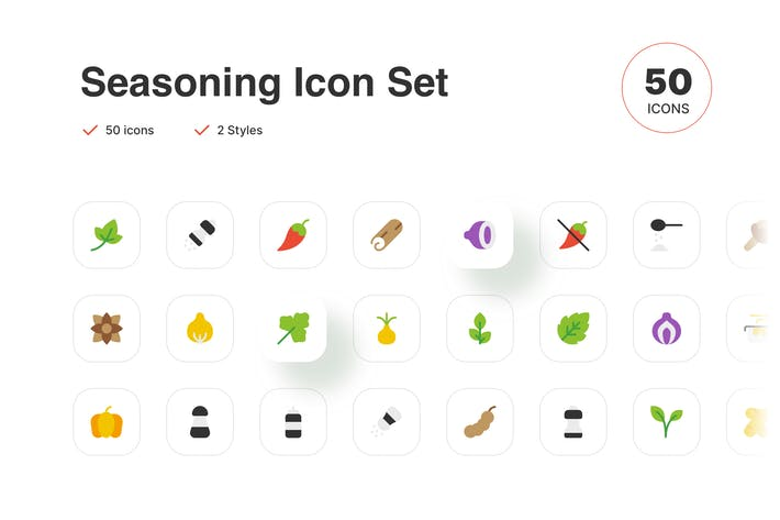 Thumbnail for Food Seasoning Icon