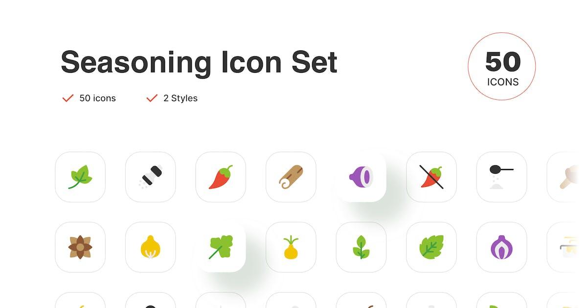 Download Food Seasoning Icon by simplestudios