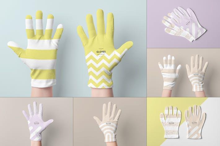 Cover Image For Gloves Mock-up