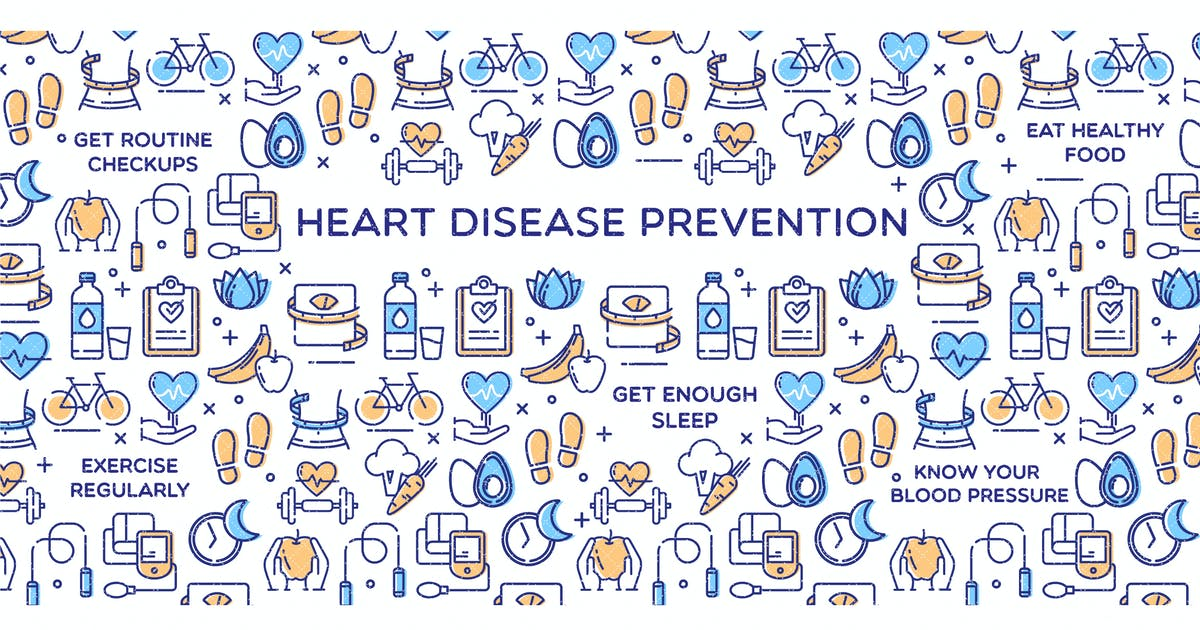 Heart Disease Prevention - Conceptual Illustration by introwiz1