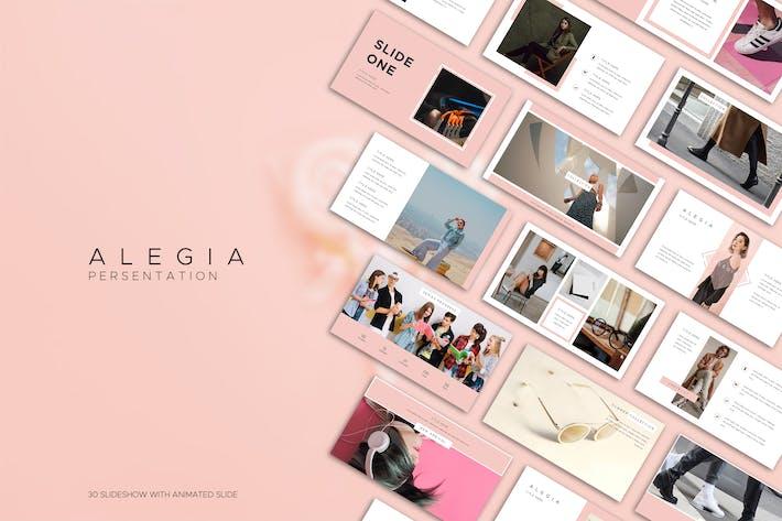 Thumbnail for Alegia Boutique Powerpoint
