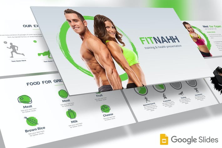 Thumbnail for Fitnahh - Google Slides Template