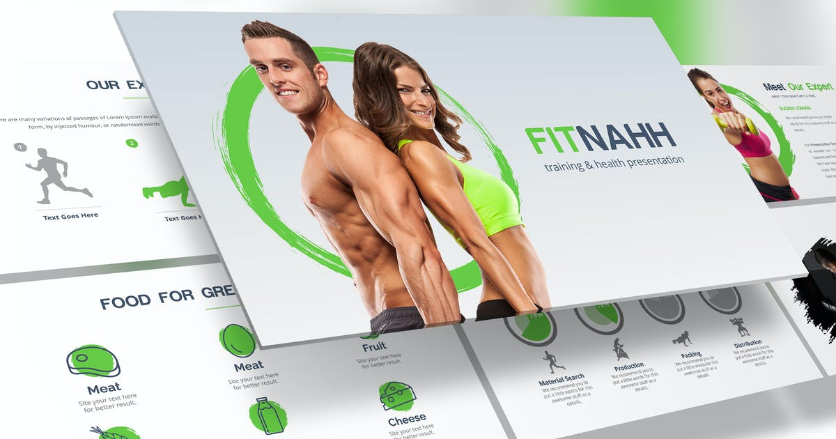Download Fitnahh - Google Slides Template by Unknow