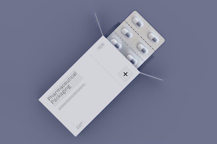Thumbnail for Pharmazeutische Verpackungen Mockup