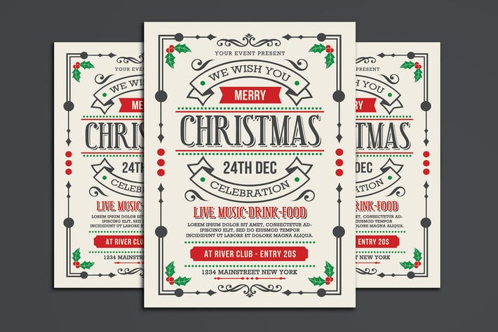 Thumbnail for Christmas Flyer