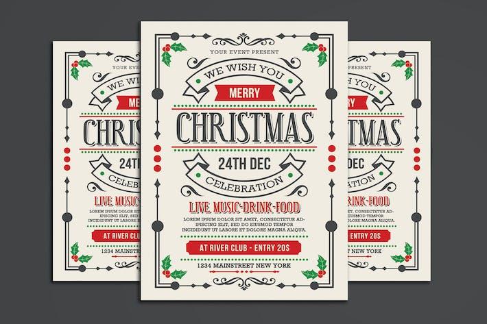 Thumbnail for Weihnachten Flyer