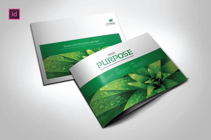 Thumbnail for MULTIPURPOSE DESIGN  - A5 Magazine template
