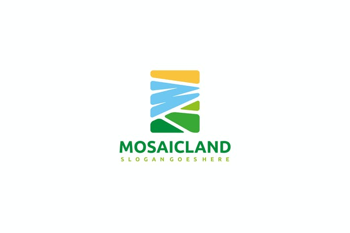 Cover Image For Mosaic Landscape Logo