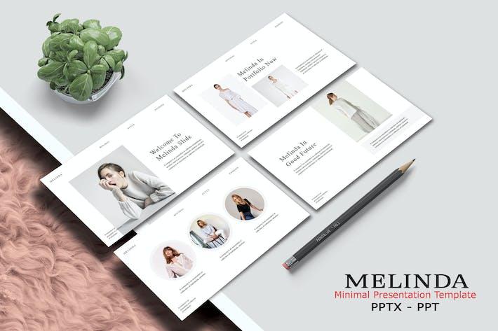 MELINDA - Минимальные значения Powerpoint