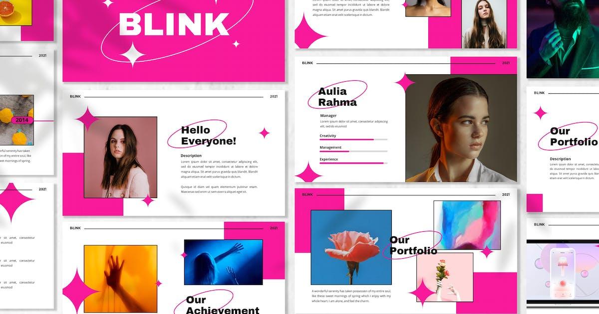 Download Blink - Creative Powerpoint Template by designesto