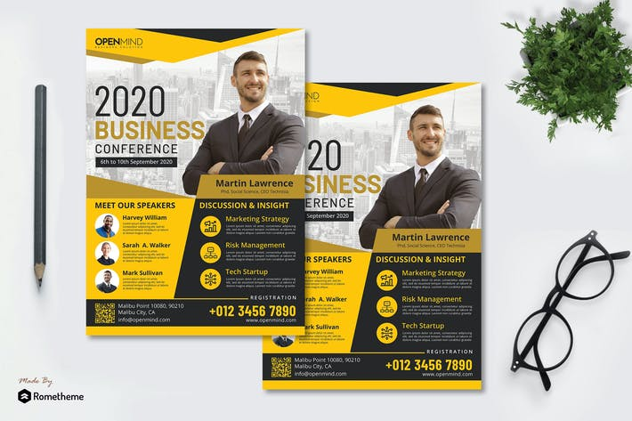 Thumbnail for Business Seminar vol.01 - Flyer RB