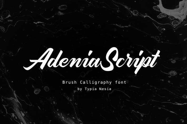 Thumbnail for Adenia Rose Script