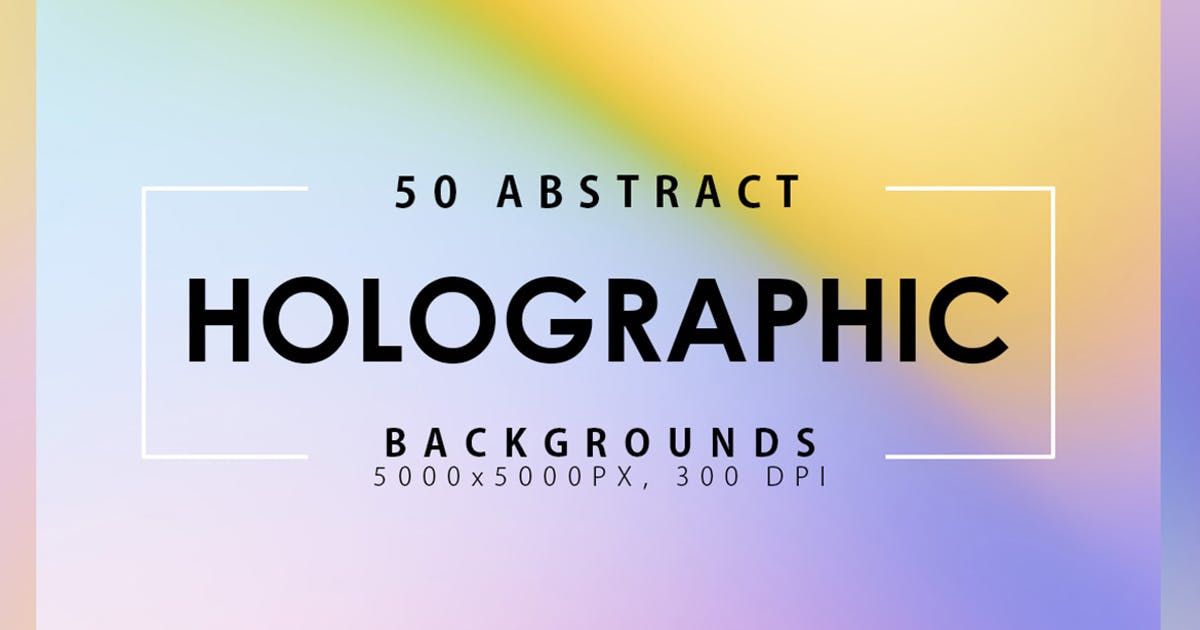Download 50 Holographic Backgrounds by M-e-f