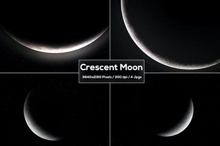 Crescent Moon Backgrounds