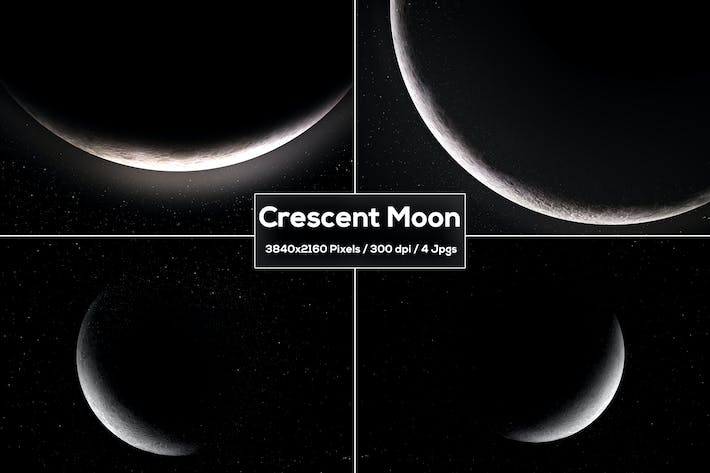 Thumbnail for Crescent Moon Backgrounds