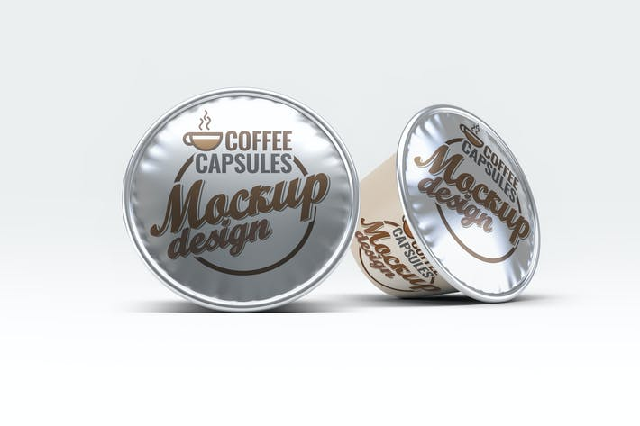 Thumbnail for Coffee Capsules Mock-Up