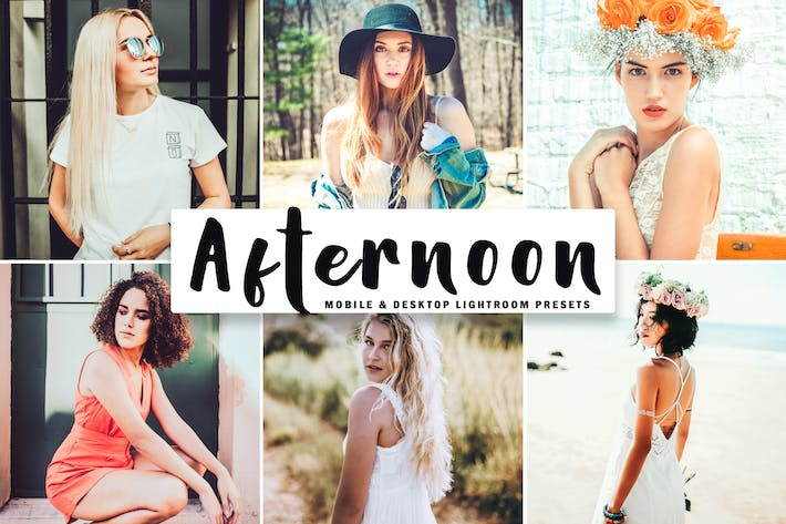 Thumbnail for Afternoon Mobile & Desktop Lightroom Presets