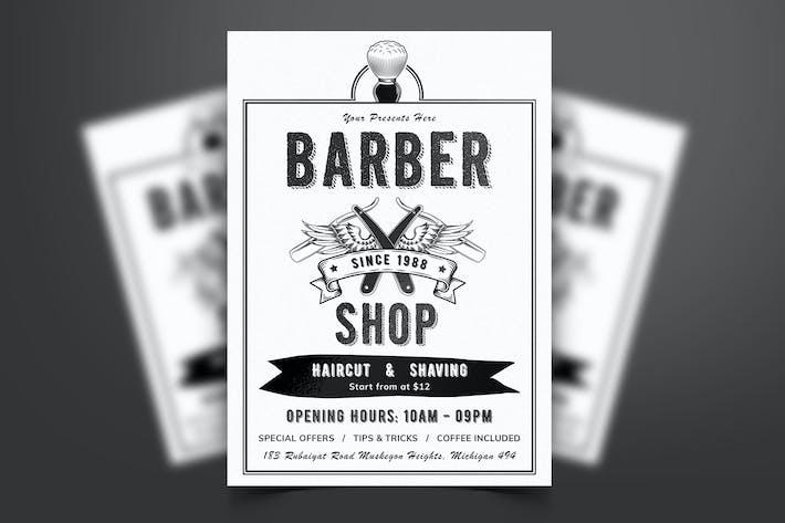 Thumbnail for Barber Shop Flyer-06