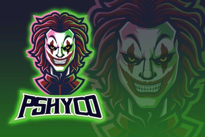 Thumbnail for Psycho Clown Esport Logo