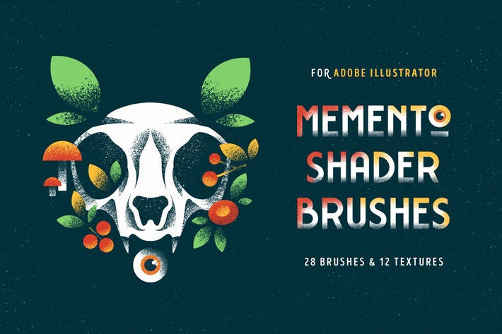 Thumbnail for Shader Brushes for Illustrator