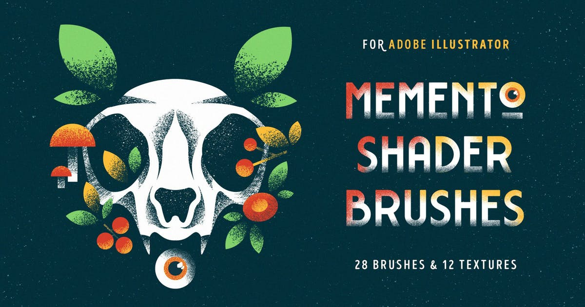 Download Shader Brushes for Illustrator by pixelbuddha_graphic