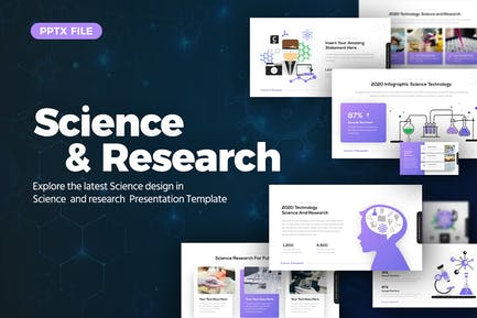 Science and Research Presentation Template