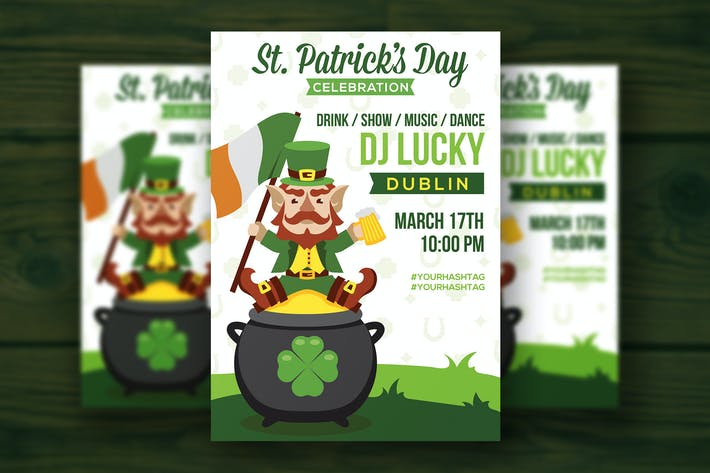 Thumbnail for St. Patrick's Day flyer