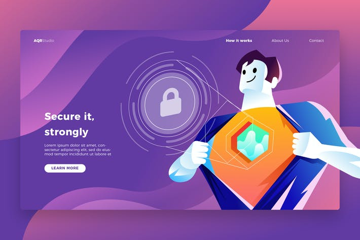 Thumbnail for Security - Banner & Landing Page