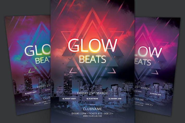 Thumbnail for Glow Beats Flyer