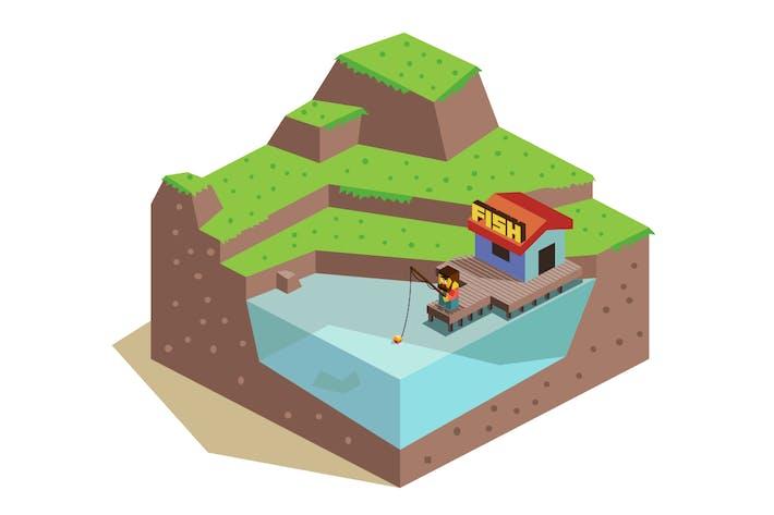 Thumbnail for 3d Fishing Hut