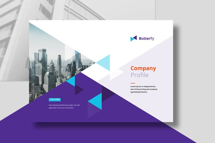Thumbnail for Company Profile Landscape