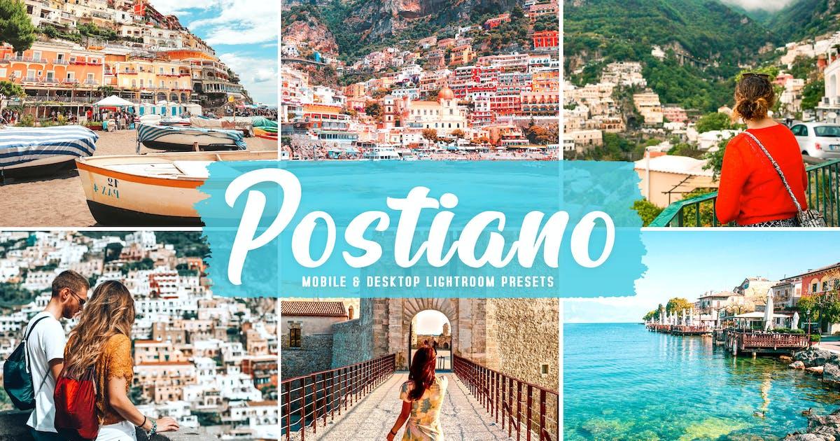 Download Postiano Mobile & Desktop Lightroom Presets by creativetacos