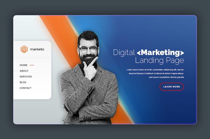 Thumbnail for Marketo - Landing page Hero Banner