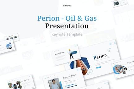 Perion Gas & Oil Keynote Presentation Template
