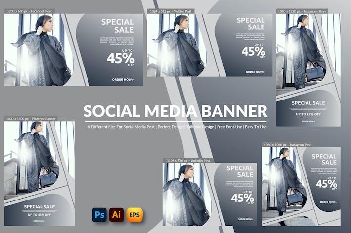 Thumbnail for Venda Especial Banner Social Media