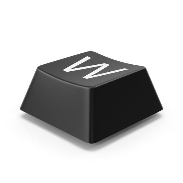 Кнопка клавиатуры W