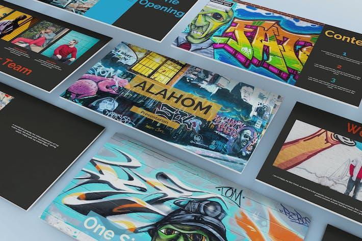 Thumbnail for Презентация Google для слайдов Алахом