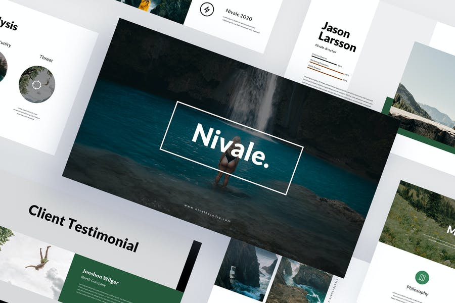 Nivale - Travel Powerpoint Template
