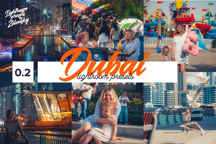 Thumbnail for DUBAI -  Lightroom Presets by Zelensky